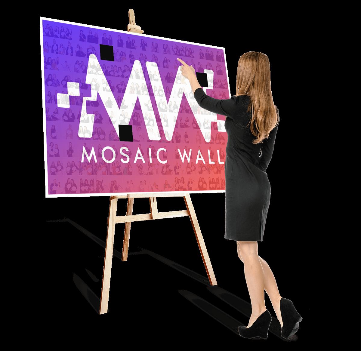Sevalet Mosaic Wall Event la evenimente